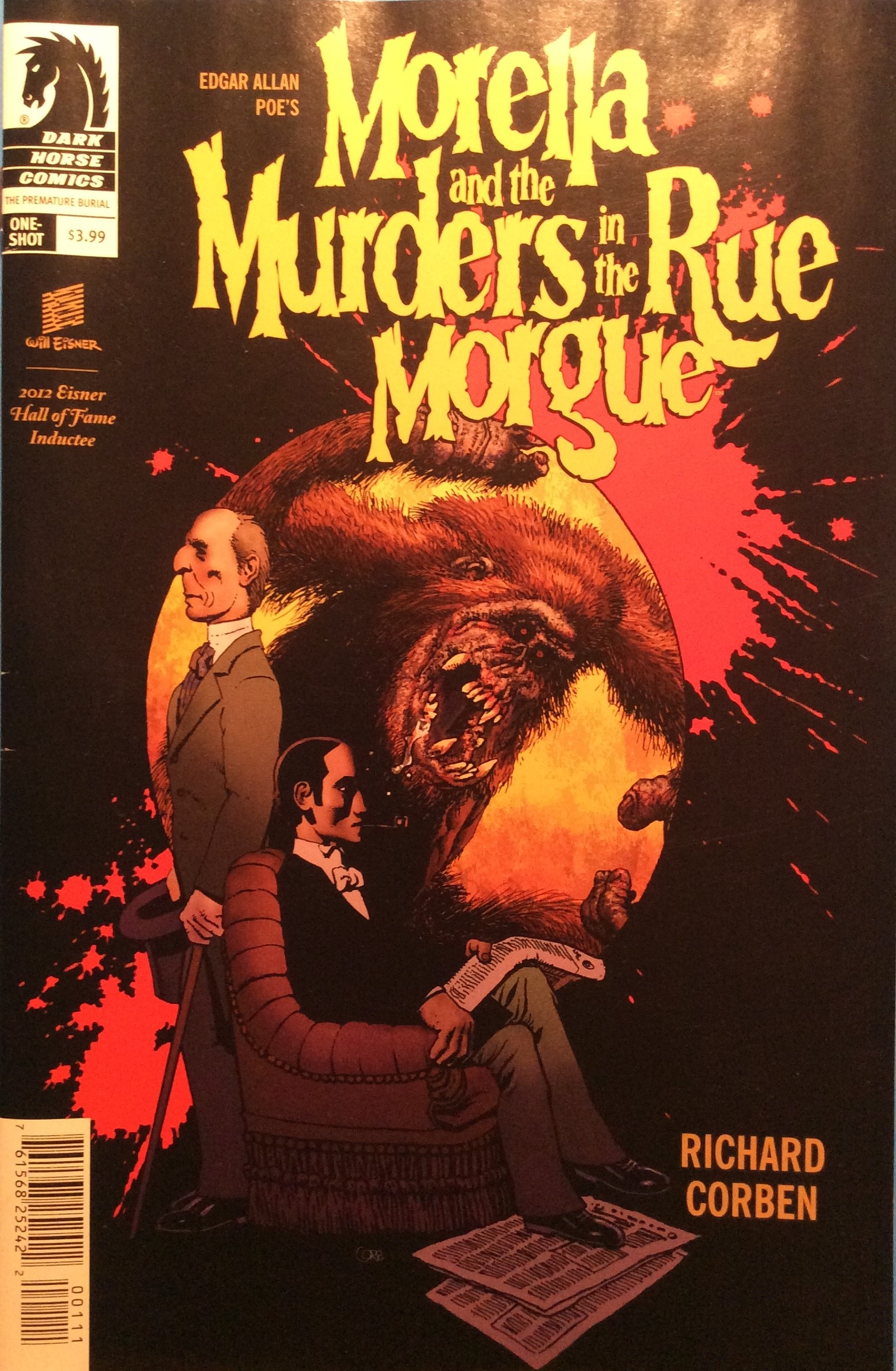 Morell and Murders In The Rue Morgue Cover