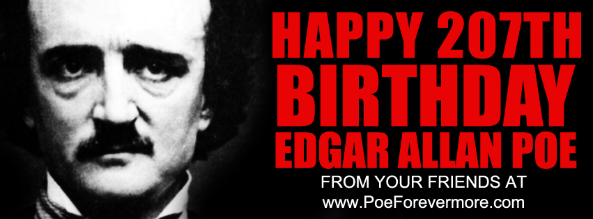 Edgar Allan Poe 207th Birthday